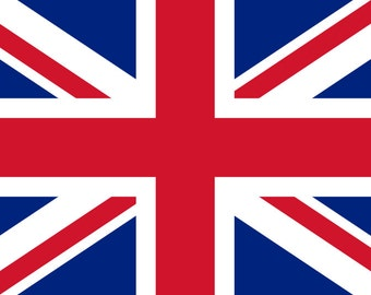 Flag of United Kingdom of Great Britain and Northern Ireland (*Union Jack*)