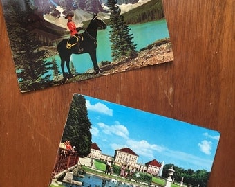 Vintage Postcards(2 Used)