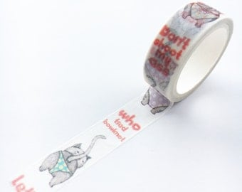 Panty Cats Washi Tape