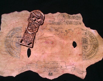 Goonies Map and Key