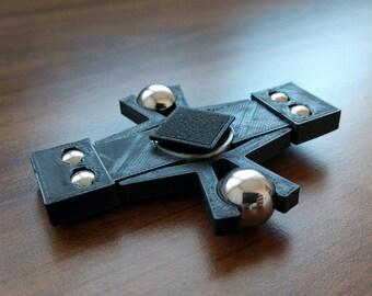 Minecraft EnderMan Fidget Spinner - 3D Printed