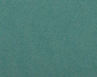Felt - craft felt rich Turquoise / Turquoise 1 mm 40 x 45 cm