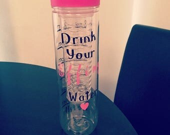 Customised water bottles