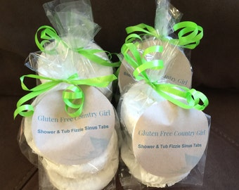 Shower and Tub Fizzie Tab - Sinus