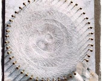 string art angel