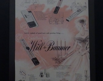 Will & Baumer, Candles, Vintage Wall Decor, Youthform, Lingerie, Vintage Shop Decor, Wall Decor, Illustration, Home Decor