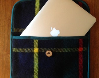 Irish Wool Laptop Sleeve for 13inch MacBook Pro