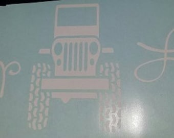 Jeep Life sticker decal