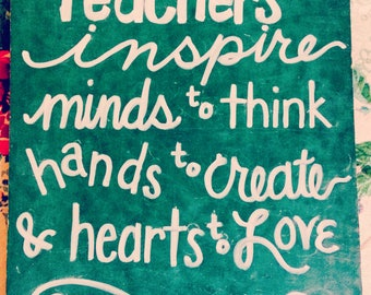 Teacher Appreciation Chalkboard Signs