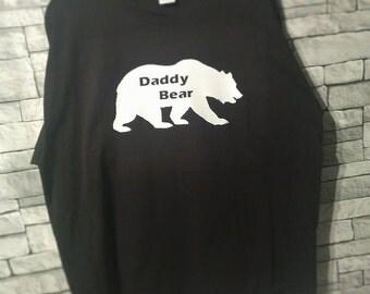 Daddy Bear Mens Tshirt Gift