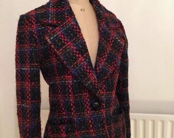 Vintage Jaeger womens tweed jacket blazer