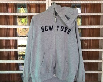 Major League Baseball New York Hoodie Sweatshirt large size