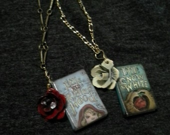 Childrens Storybook necklaces