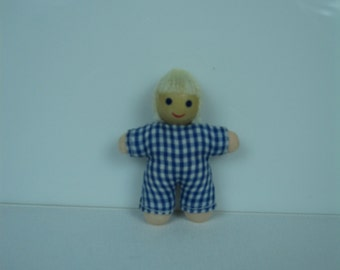 Miniature Baby Doll-Green or Blue