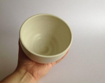 White Noodle Bowl