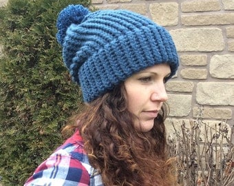 Slouch Hat Denim