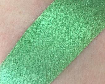 Absinthe - Duo-Chrome Teal with Yellow Undertones Mineral Eye Shadow 3g Jar 5g Jar green eyeshadow Vegan Natural Mineral Mica Makeup