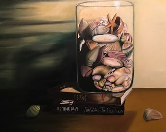 The Shell Jar - Oil Painting