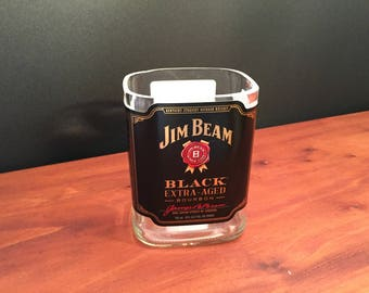Jim Beam Black Bourbon Whiskey Bottle  Soy Candle. 750ML  Made To Order !!!!!!!
