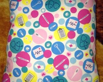 Nurse theme pillow