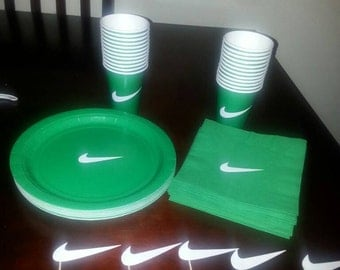 Swoosh(Nike inspired) party supplies