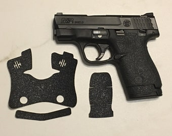 Smith and Wesson M&P Shield 9/40 Textured Rubber Grip Enhancement Wrap