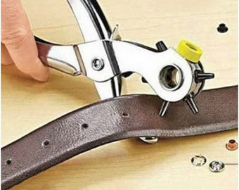 Multi-Function Leather Hole Puncher Tool