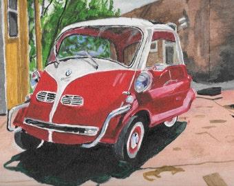 Car Portraits Custom Made  Acrylic originals based on your photographs