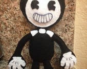Bendy and the Ink Machine felt plush