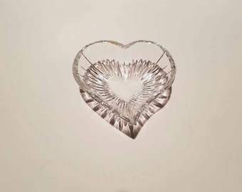 Mikasa Crystal, Heart shaped, Full Lead, Icicles Collection