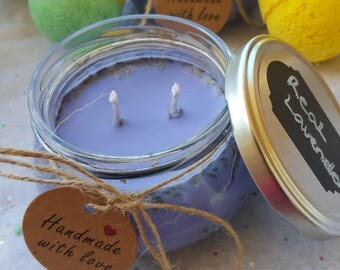 Real Lavender Soy Candle