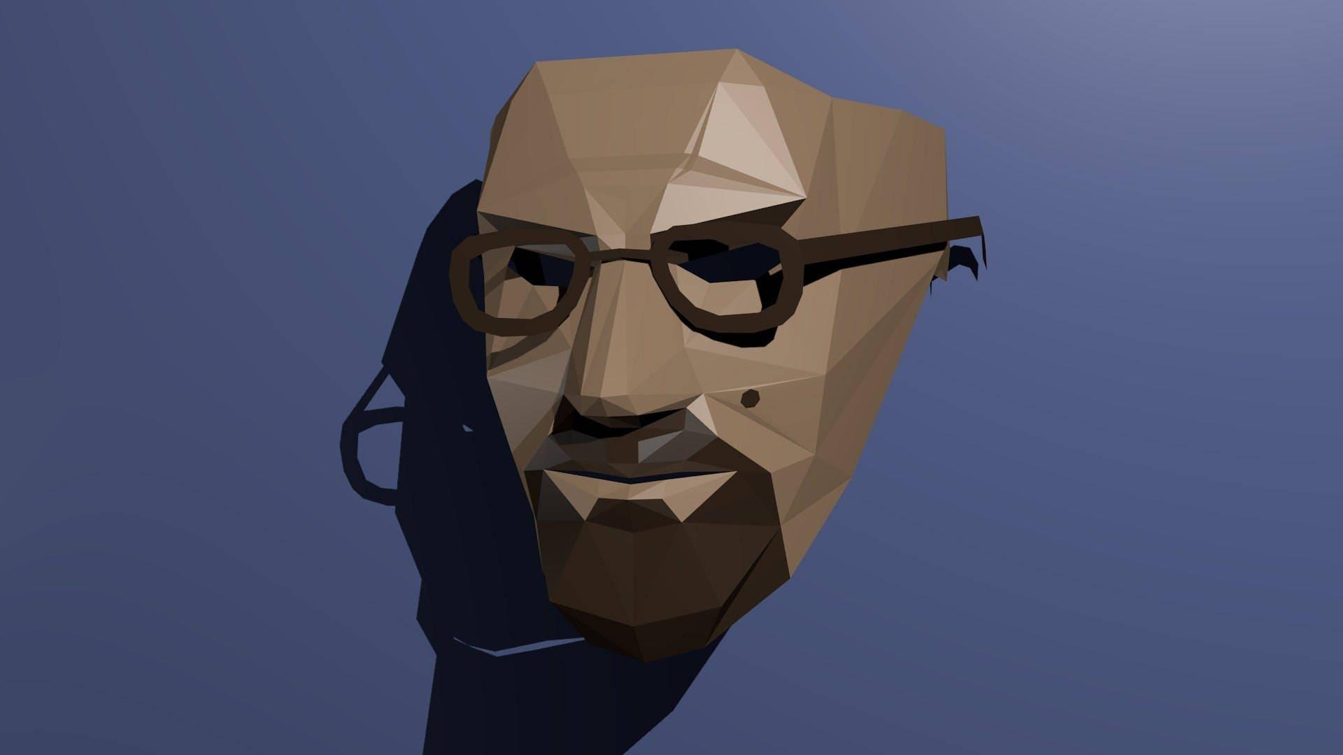 Heisenberg mask (Walter White,