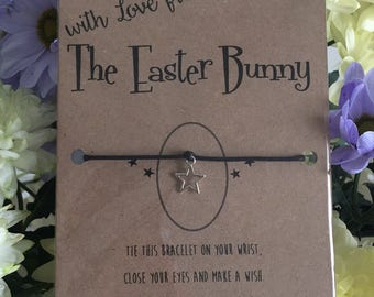 A gift from the Easter Bunny (wishing bracelet)