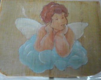 box suitcase Angel decoration