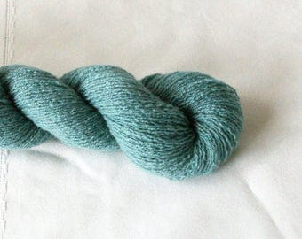 Recycled Cashmere Sea Mist Blue Lace Weight Yarn