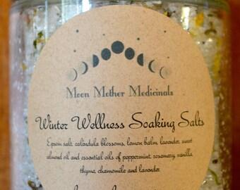 Winter Wellness Soaking Salts