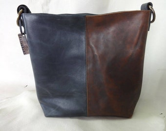 Leather bag, handmade, quality calf leather