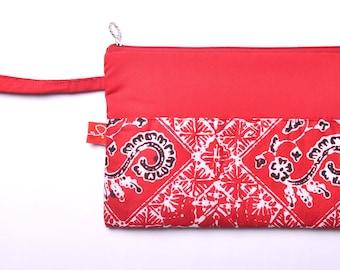 Batik Banyuwangi Red Pouch