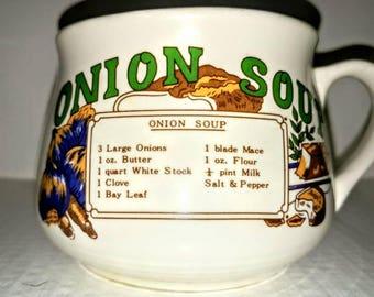 Classic Onion Soup Recipe Mug Bowl