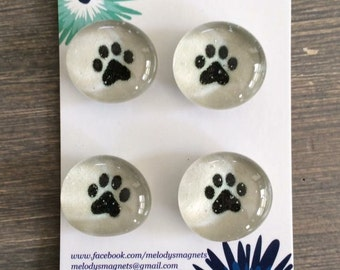 Paw Prints Magnets