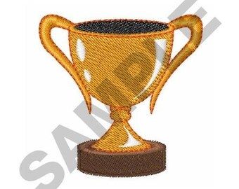 Trophy Cup - Machine Embroidery Design