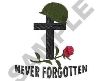 Fallen Soldier - Machine Embroidery Design