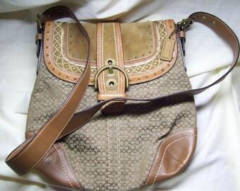 Authentic Coach hand Bag purse