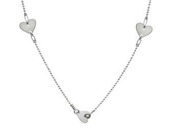 Necklace Hearts