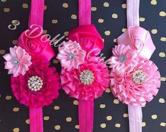 Girl Headband Pink