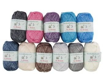 Air Breeze Yarn 50g Skein Polyester, Acrylic