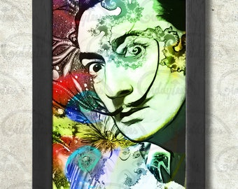 Salvador Dali Poster Print A3+ 13 x 19 in - 33 x 48 cm  Buy 2 get 1 FREE