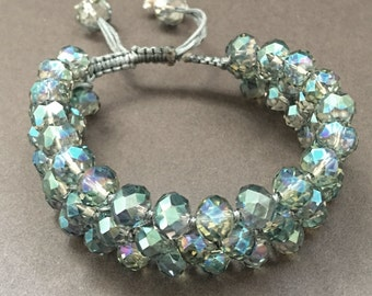 Macramé Cuff Bracelet