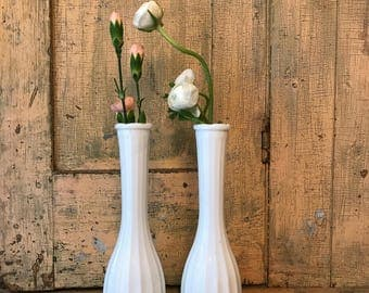 Set Of 5 Vases Mercury Glass Bud Vases Mix And Match Vases