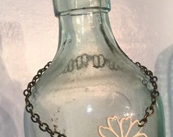 Beaded Boho Vintage Glass Bracelet